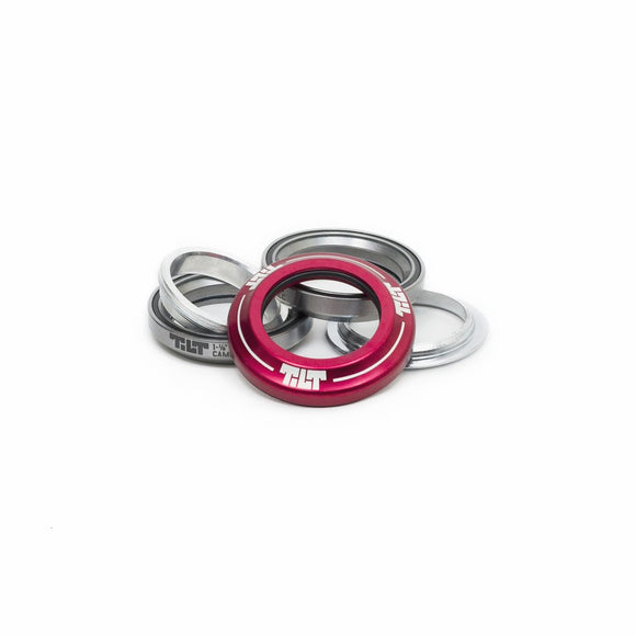 Tilt Integrated Headset - Red