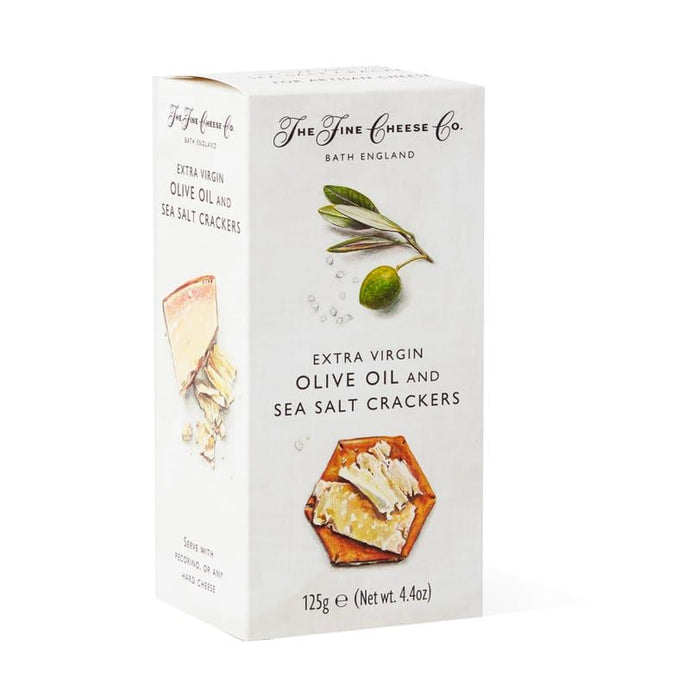 Extra Virgin Olive Oil and Sea Salt Crackers 125g