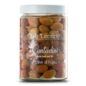 Leccine Red Olives 550g
