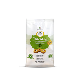 Taralli with fennel seeds by Terre di Puglia 250g