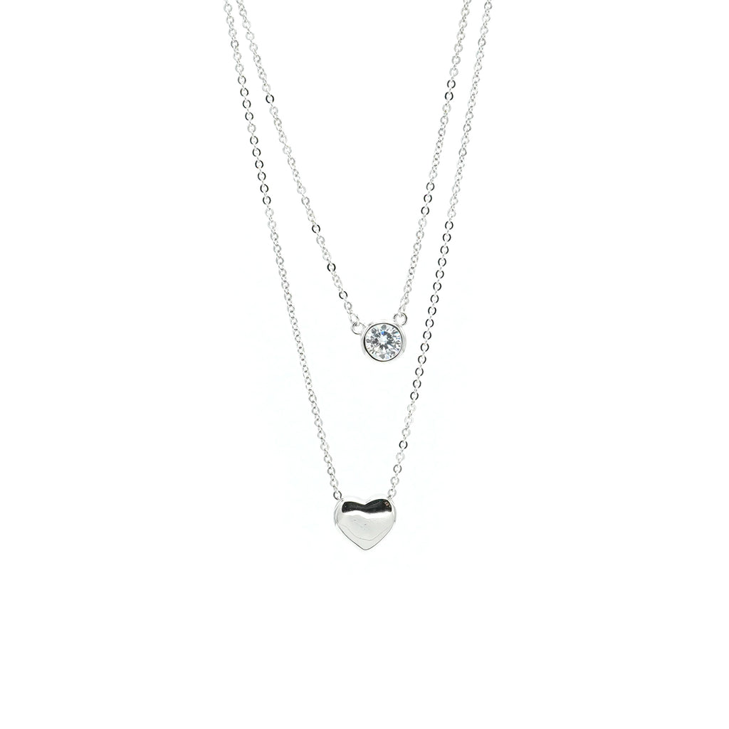 Double Layer Love & Light necklace