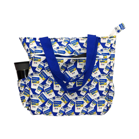 Milk of Amnesia Tote Bag with Laptop Sleeve - next-generation healthcare PPE
