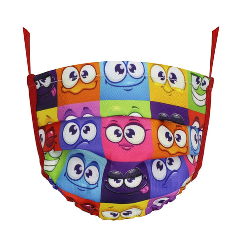 Colors Facemask Funny Kids - next-generation healthcare PPE