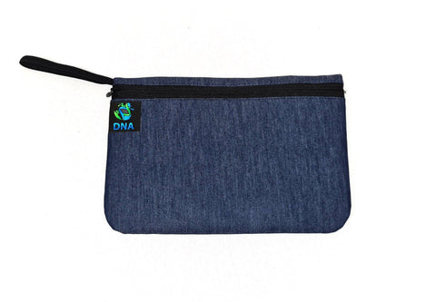 Denim Glam Bag - next-generation healthcare PPE