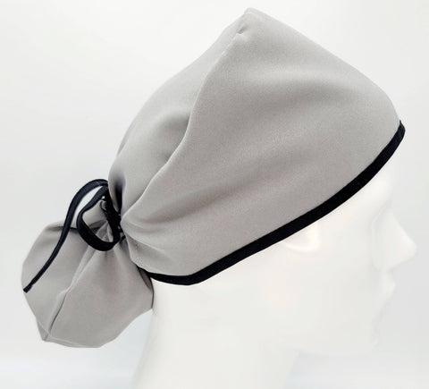 Gray Scrub Cap (5 styles) - next-generation healthcare PPE