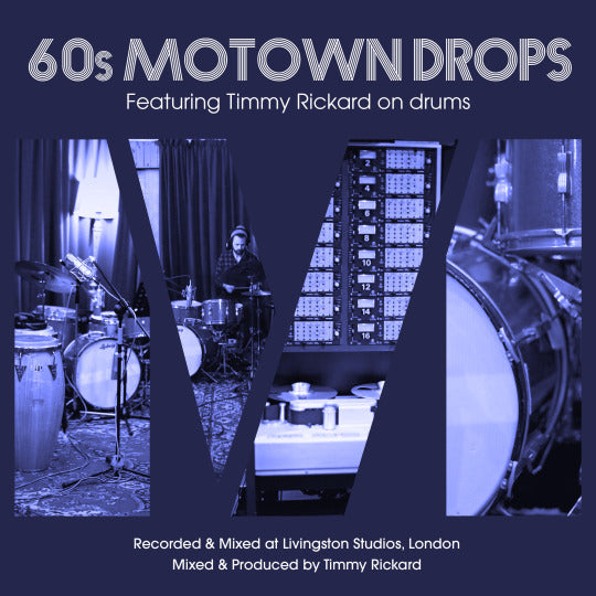 60s Motown Drops - Multi-tracks, stems, loops - coming soon….
