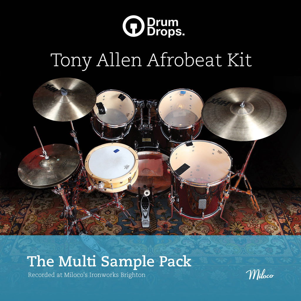 Tony Allen Afrobeat Kit
