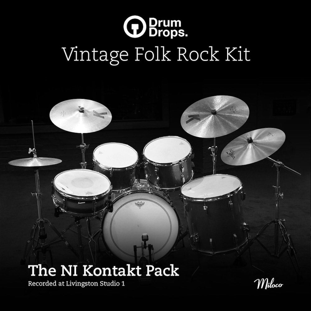Vintage Folk Rock Kit Kontakt Pack