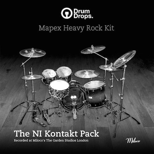 Mapex Heavy Rock Kit Kontakt Pack