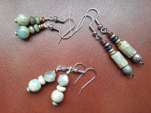 Load image into Gallery viewer, Natural Stone Earrings
