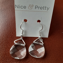 Load image into Gallery viewer, Swarovski crystal briolette earrings. Nice and Pretty Jewelry.