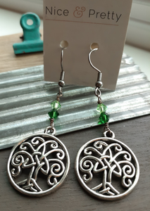 Celtic tree of life earrings. nice and pretty jewelry