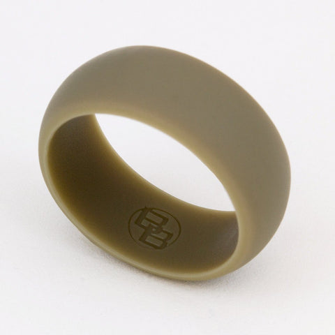 Dark Earth Silicone Wedding Ring