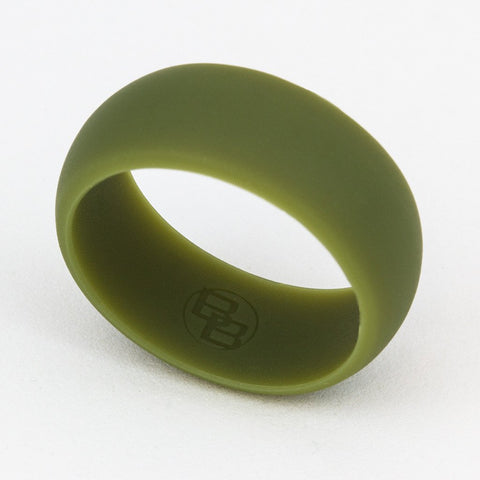 Olive Drab Silicone Wedding Ring