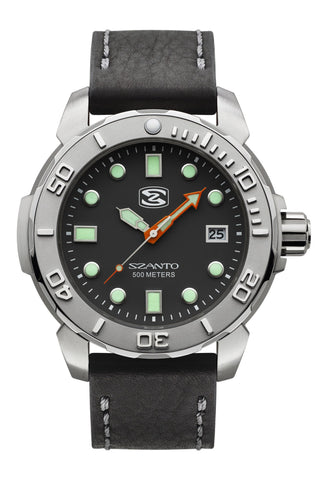Szanto 5101 Dive Watch Black/Black