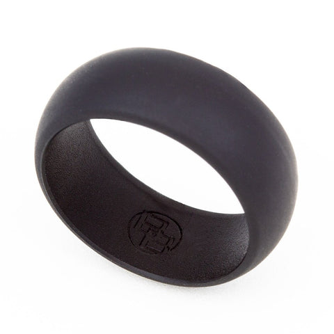Black Silicone Wedding Ring