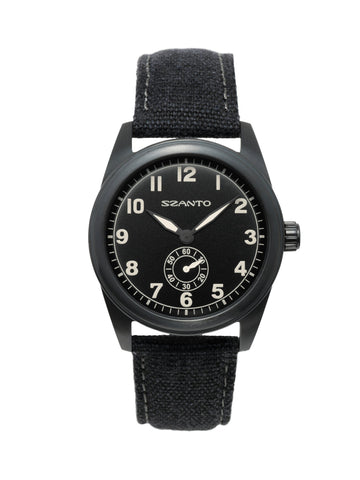 Szanto 1001 Field Watch Black / Charcoal