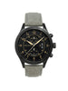 Szanto 1203 Aviator's Watch Black/Light Grey