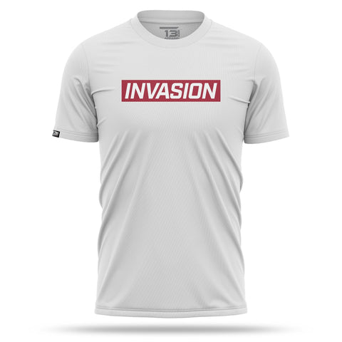 Alpine White INVASION Lifestlye T-Shirt