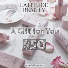 Load image into Gallery viewer, Latitude Beauty Gift Card