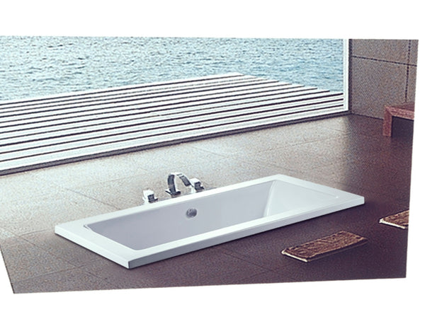 Birger-DB bathtub deck-mounted white high quality