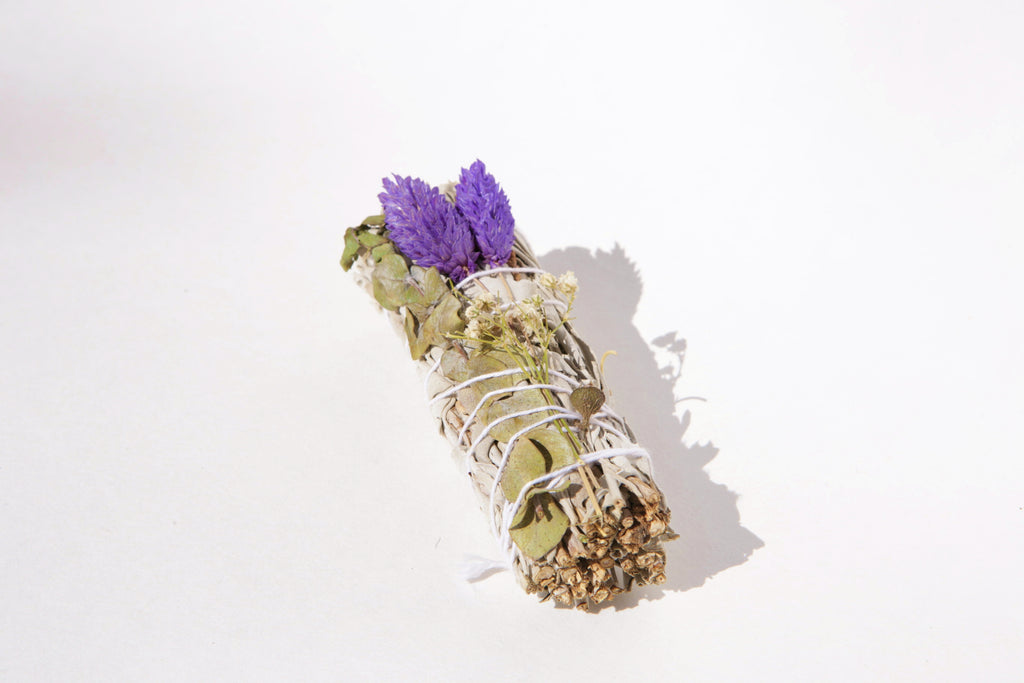 10 White Sage, Lavender & Eucalyptus Dollar Sage Sticks (Bulk Smudge Bundle) Limited Quantity!