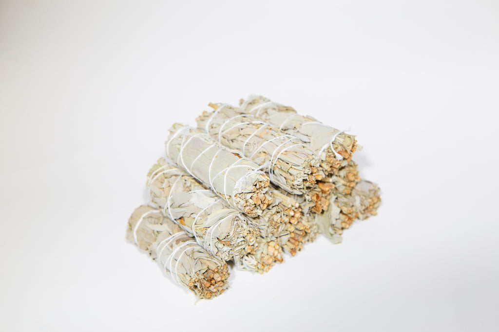 12 White Sage Smudge Sticks (Bulk Smudge Bundle)