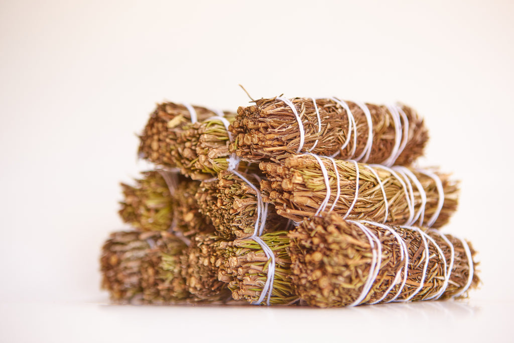 Rosemary Smudge Stick + Palo Santo Wholesale Bundle: 12 Palo Santo Wood & 12 Rosemary Smudge Sticks