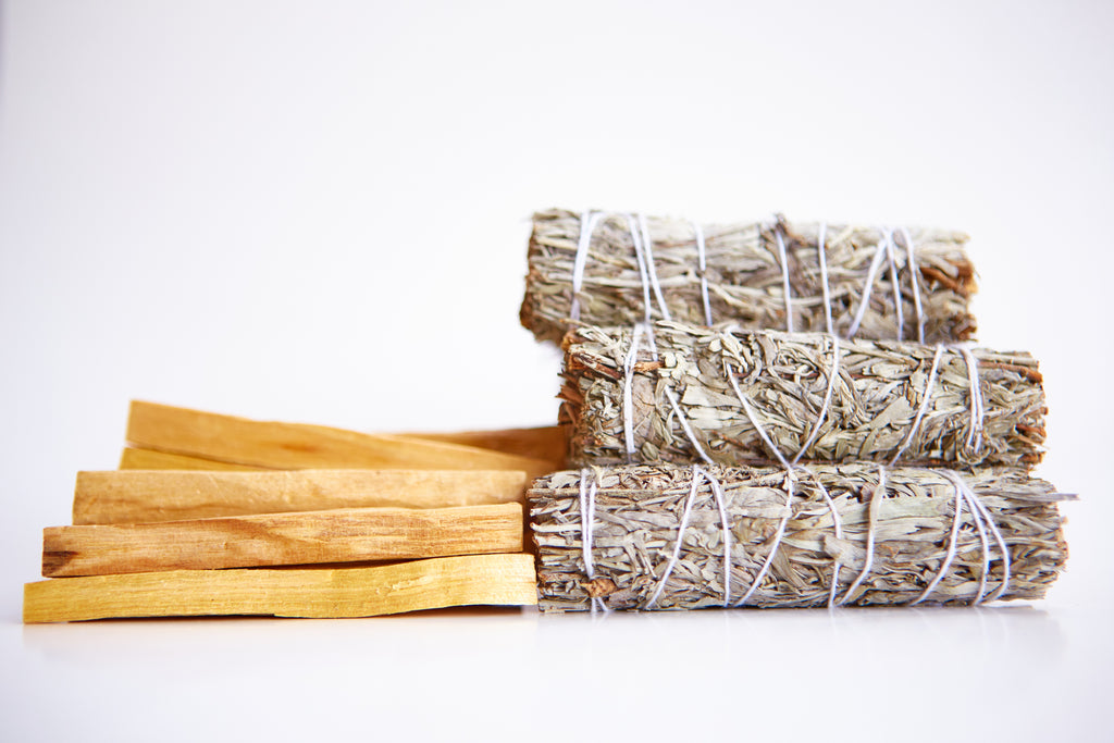 Blue Sage + Palo Santo Wholesale Bundle: 12 Palo Santo Wood & 12 Blue Sage Smudge Sticks