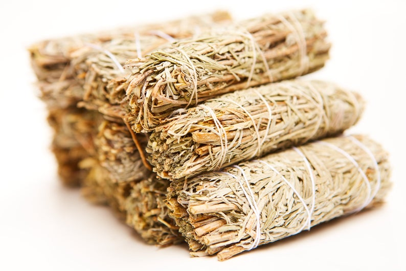 11 Frankincense Smudge Sage Sticks (Bulk Smudge Bundle)