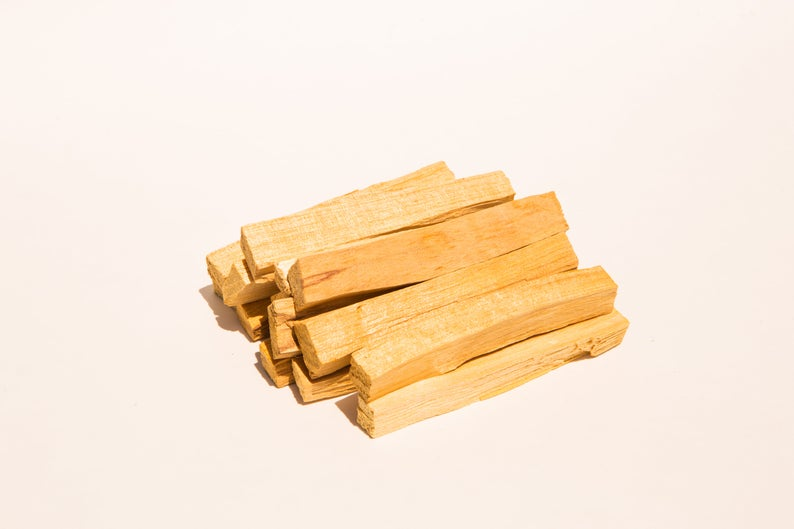 Palo Santo Smudging Sticks from Peru Sustainably Harvested Quality Hand Picked - 100 Grams (Approximately 13-20 Sticks)