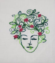 Load image into Gallery viewer, Embroidered Tea Towels, Assorted