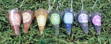 Load image into Gallery viewer, Chakra Pendulum (Set of 7)