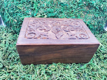 Load image into Gallery viewer, Earth Goddess Carved Box