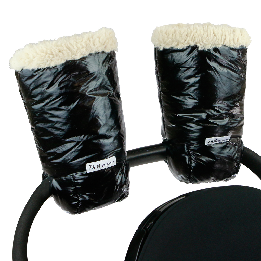 7am Warmuffs Polar - BLACK - OS