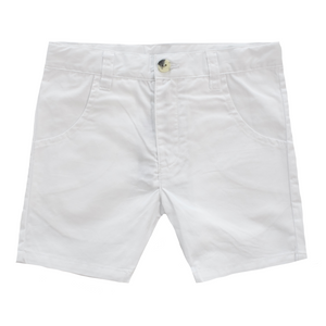 Crew Kids Chino Shorts - White