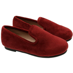 Zeebra Classic Velvet Loafers - Soft Sole - BURNT SIENNA