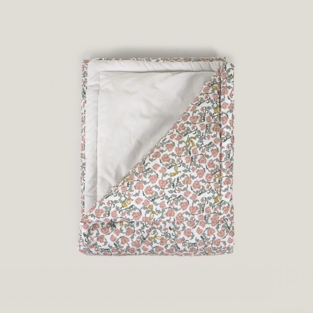 Garbo & Friends Filled Blanket - Floral Vines - OS