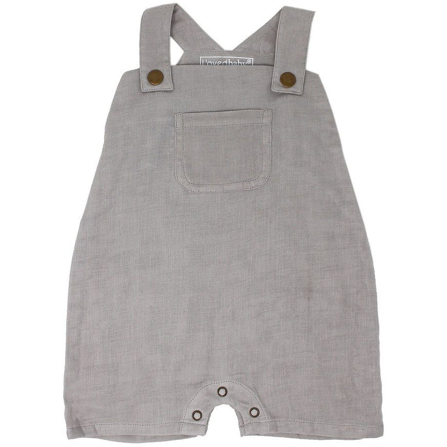 Loved Baby Muslin Overall - CLOUD