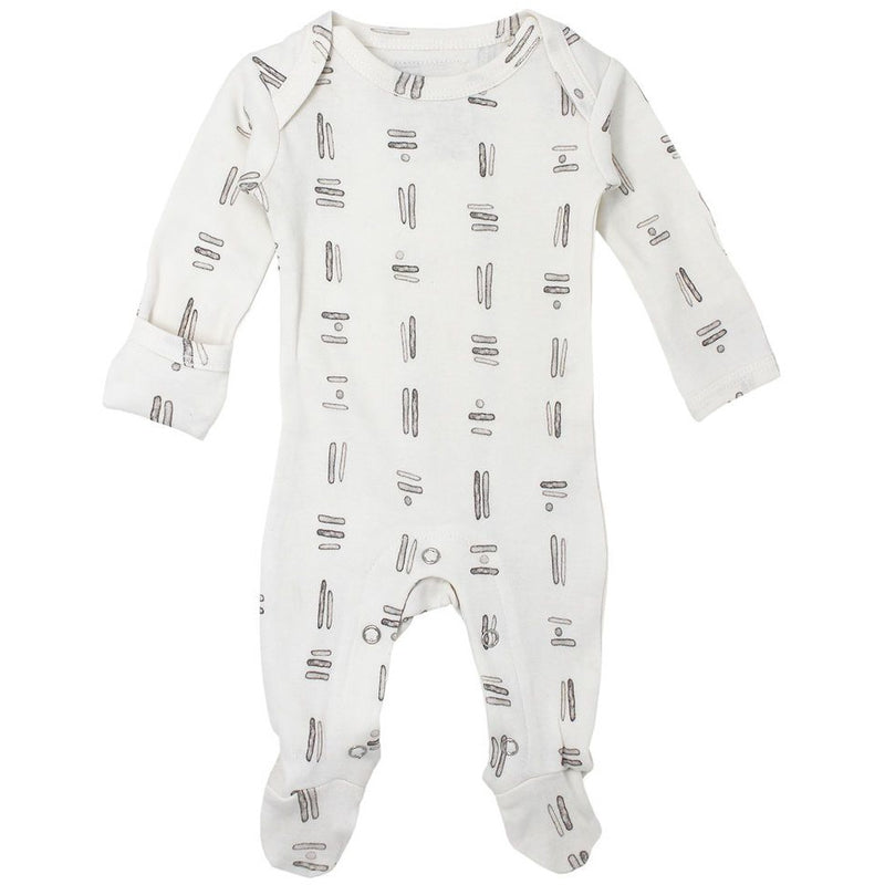 Loved Baby Tribe Footie - GREY