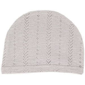 Loved Baby Pointelle Hat - GREY