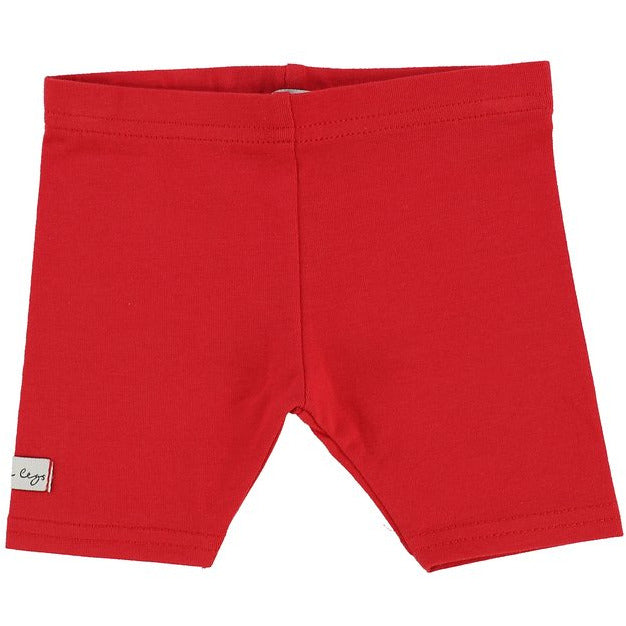 Lil Leggs Short Leggings - RED