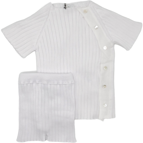 Violeta E Federico Lalo Jumper And Pants - WHITE