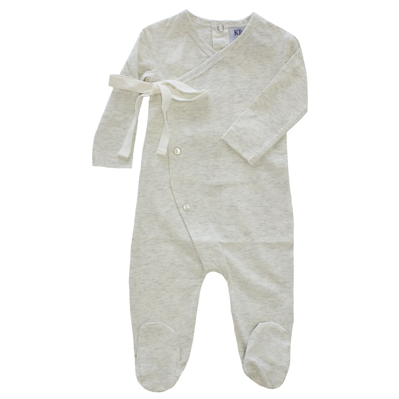 Kipp Wrap Footie - GREY