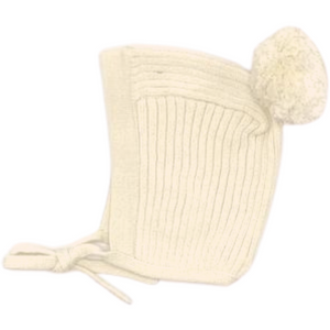 Tun Tun Knit Wrap Baby 3Pc Set - NATURAL