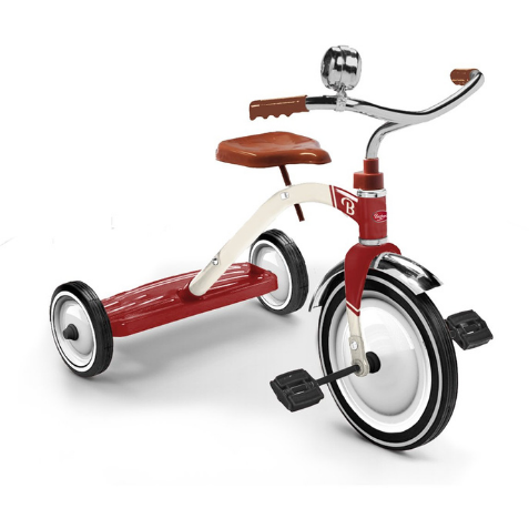 Baghera Ride-On Vintage Trike  - RED