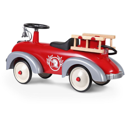 Baghera Ride-On Speedster Fireman  - RED