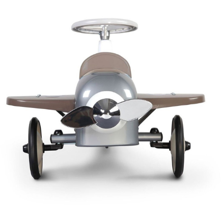 Baghera Ride-On Speedster Plane  - SILVER