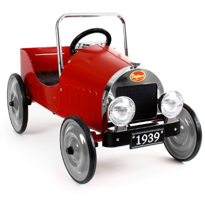 Baghera Ride-On Classic Pedal Car - RED
