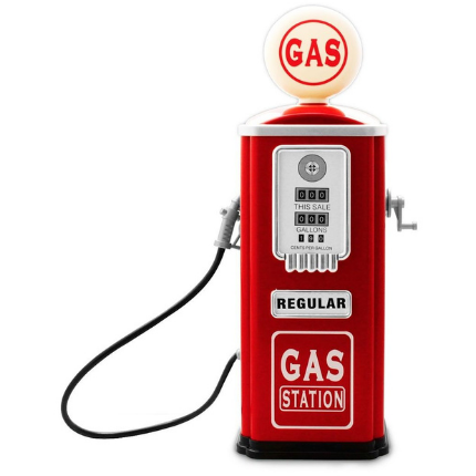 Baghera Play Gas Station Pump  - RED